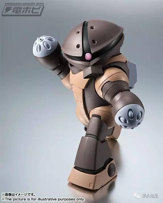 戰場萌物!「ROBOT魂Ver.A.N.I.M.E」龜霸登場 - 每日頭條