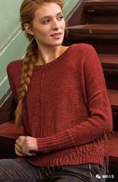 女士毛衣就該這麼織!經典實穿還耐看。花樣簡單新手也能織! - 每日頭條