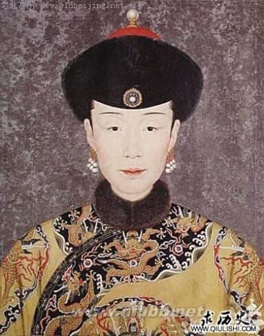 清朝皇帝后妃像 你們覺得長得好看嗎? - 每日頭條