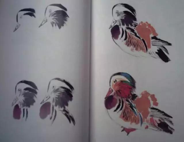 情人節。來學習下《鴛鴦的畫法》 - 每日頭條