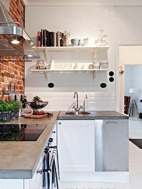 廚房臺面選哪種材質好?臺面怎麼搭配才會好看? - 每日頭條