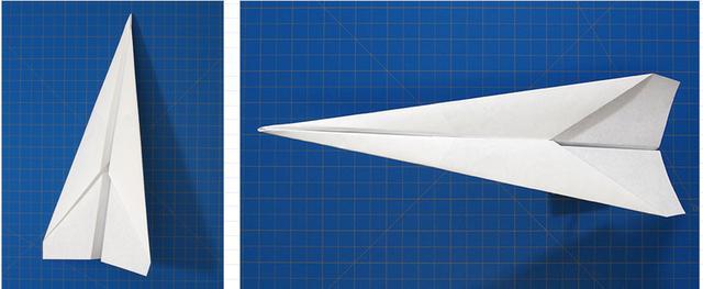 「網站」童年玩的紙飛機。這樣疊才能讓它飛得時間更久! - 每日頭條