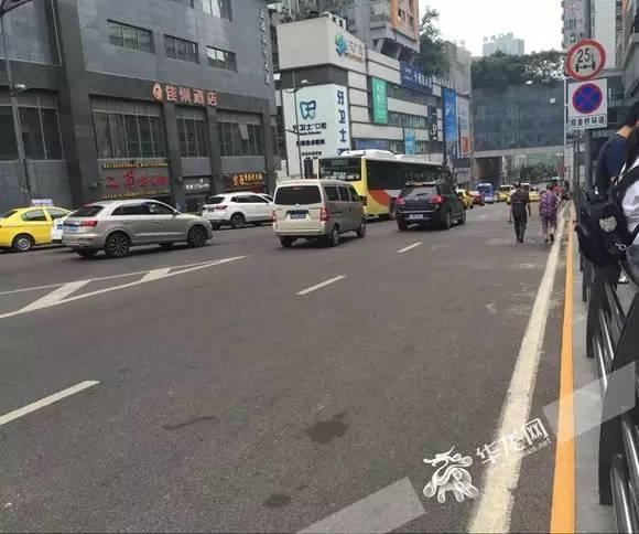 重慶那些畫了「黃實線」的路邊,還能停車嗎? - 每日頭條
