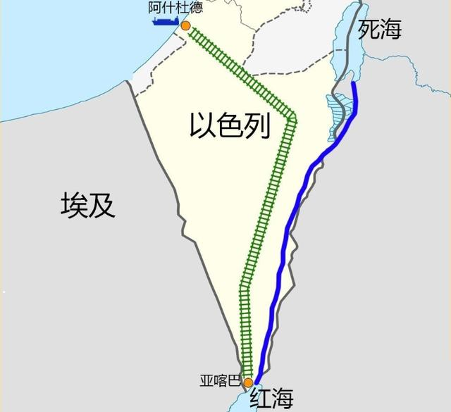 連接地中海和印度洋的以色列,為何不建蘇伊士運河二線打破壟斷 - 每日頭條