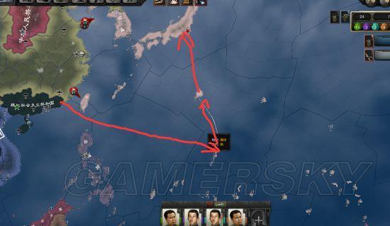 《鋼鐵雄心4》日本偷渡打法圖文攻略 怎麼偷渡 - 每日頭條