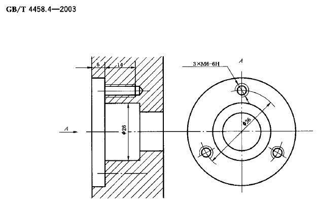 機械製圖:四個相同的孔標註4-10與4×10到底哪個正確? - 每日頭條