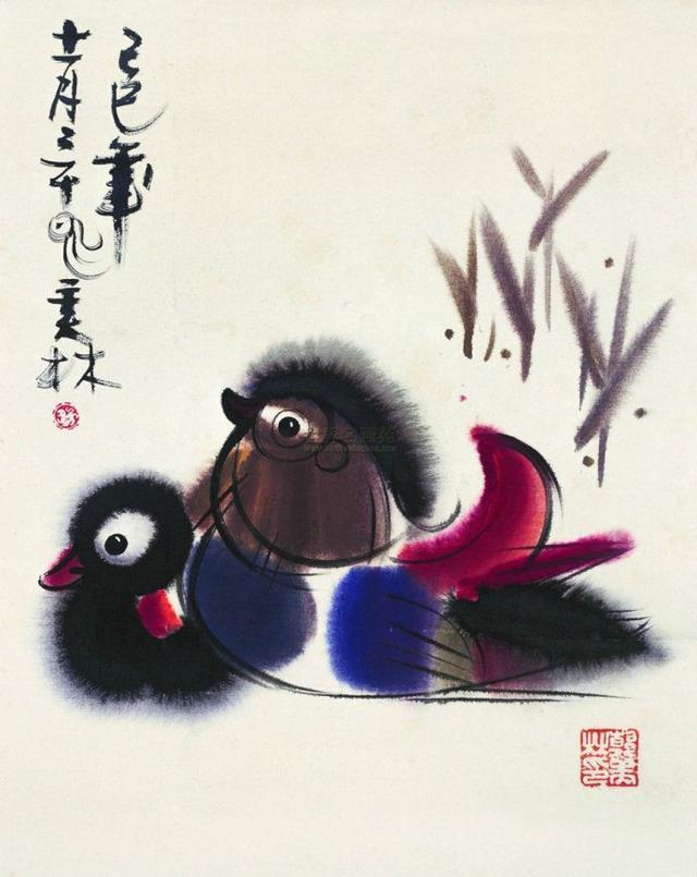 中國當代極具影響力的天才造型藝術家韓美林筆下的動物! - 每日頭條
