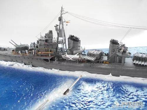 雷驅之王的末路日本海軍島風號驅逐艦之太平洋戰記 - 每日頭條