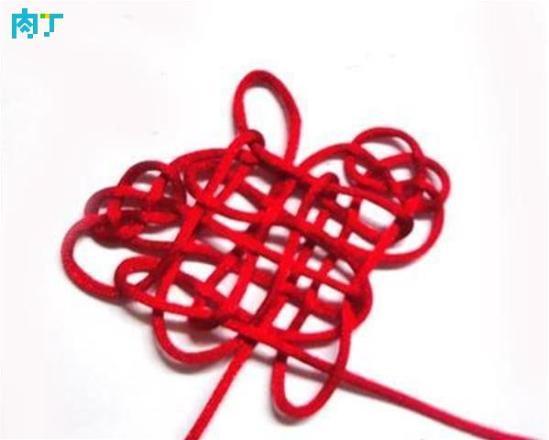 怎樣編結蝴蝶結的編法圖解—中國結蝴蝶結的打法教程 - 每日頭條