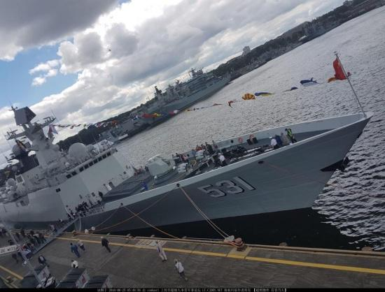 中俄最強護衛艦對比 054A輕鬆取勝 - 每日頭條