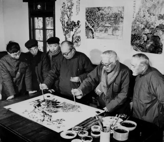 藝術家的朋友圈很重要,書畫大家王個簃與吳昌碩等師友的交往逸聞 - 每日頭條