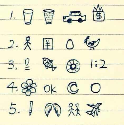 看圖猜成語:答對5個以上是高手。看到第一張圖。你就瘋了! - 每日頭條
