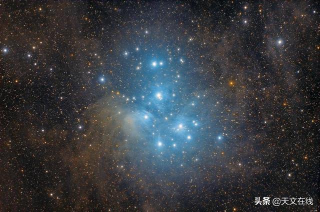 2分鐘。帶你快速了解什麼是昴宿星團? - 每日頭條