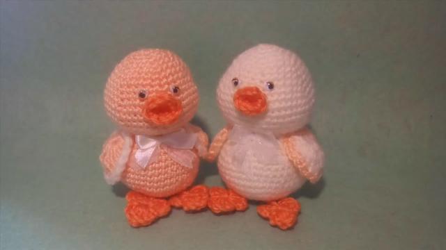 鉤織DIY,教你小鴨子玩偶的鉤織方法,步驟詳細,關鍵是很可愛 - 每日頭條