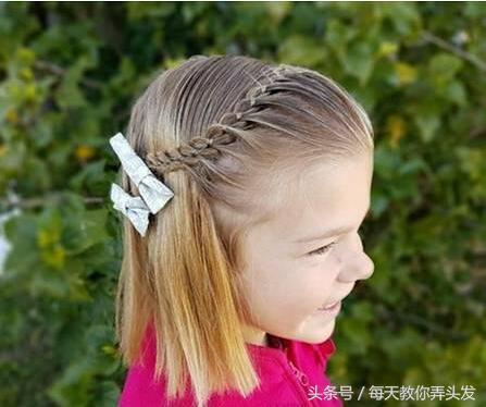 27種小女孩扎頭髮好看編髮髮型! - 每日頭條