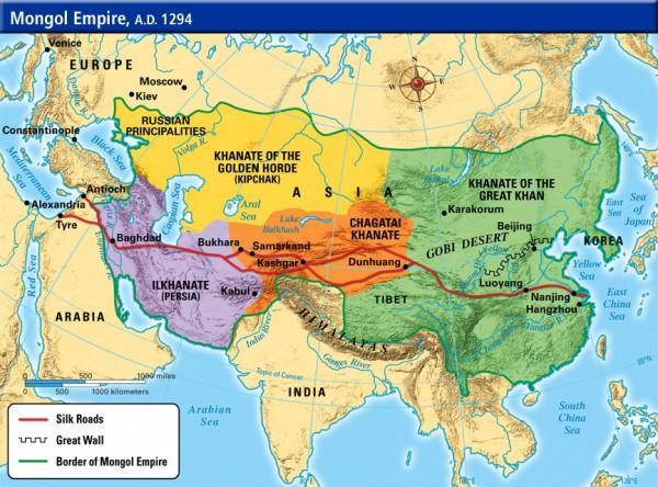 蒙古帝國建立之後才有真正意義上的世界歷史 - 每日頭條