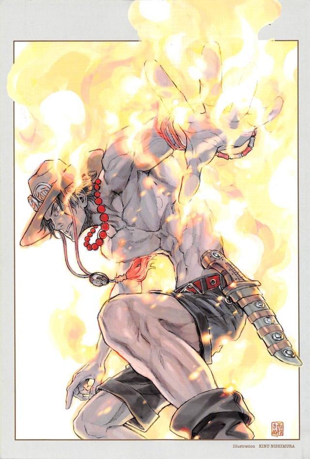 《One Piece Magazine Vol2》艾斯特別篇漫畫 + 小說插圖 - 每日頭條