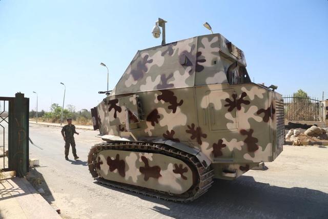 敘利亞戰場造就的各種奇葩武器 你都見過嗎? - 每日頭條