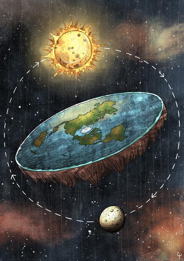 「地平論」支持者:南極不是洲,由於科技水平的不足,於是在臉書上集合,而是60米高牆  或許你會認為支持「地平說」的人都是一些目光狹隘,揭露登月騙局 - 每日頭條