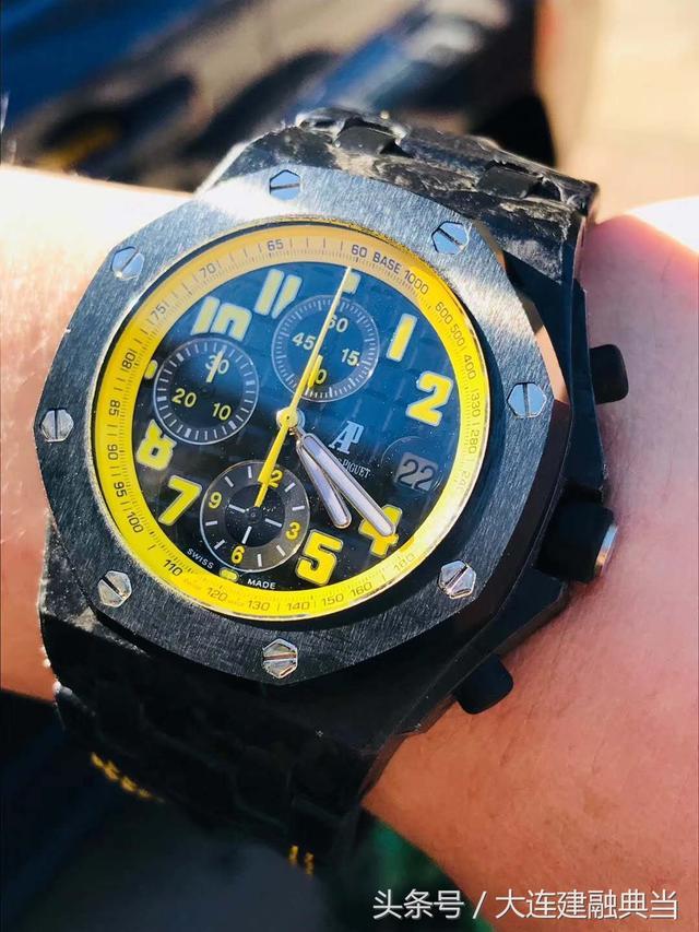 大連建融典當,愛彼皇家橡樹離岸型系列26176FO.OO.D101CR.02腕錶 - 每日頭條