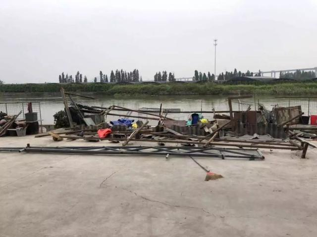番禺|化龍鎮拆除復甦村四沙街河涌周邊9宗違建 - 每日頭條
