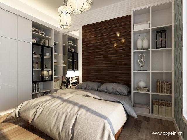 臥室小怎麼做柜子 小臥室家具的設計、擺放參照案例 - 每日頭條