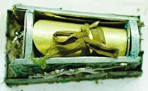 工人修水池發現一口金棺。至今無人能打開。專家:沒有這個本事 - 每日頭條