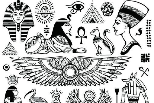 古埃及文字符號起源解讀 有關古埃及文字符號傳說 - 每日頭條