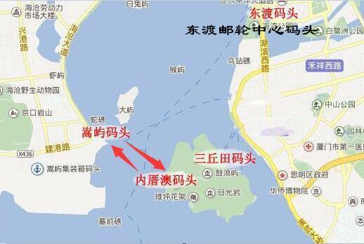 廈門去鼓浪嶼哪些碼頭可以乘船。具體線路和時間 - 每日頭條