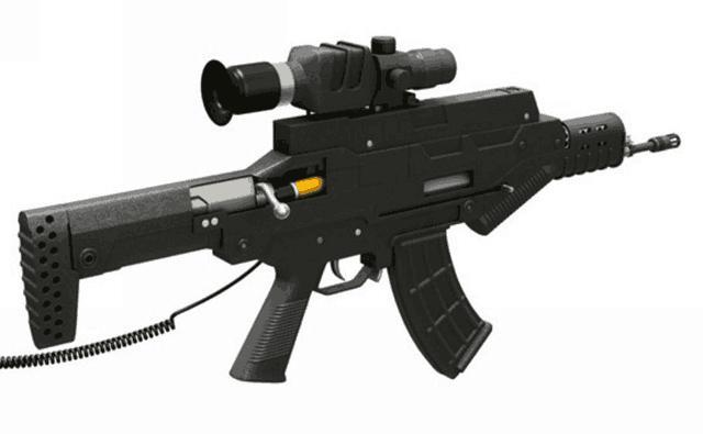 QTS11式單兵綜合作戰系統:頗受軍迷熱捧的「戰略步槍」 - 每日頭條