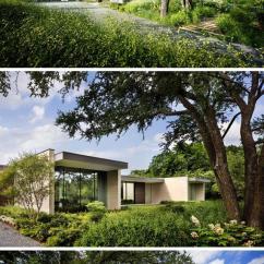 Kitchen Remodel Dallas Best Floors For Kitchens Bodron Fruit在德克萨斯州达拉斯设计了preston Hollow住宅 每日头条 园林绿化位于一个暴露的角落地段 旨在为家庭提供隐私