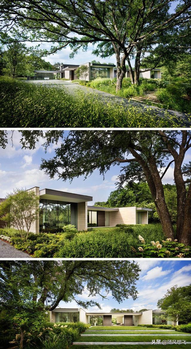 kitchen remodel dallas vintage table and chairs bodron fruit在德克萨斯州达拉斯设计了preston hollow住宅 每日头条 园林绿化位于一个暴露的角落地段 旨在为家庭提供隐私