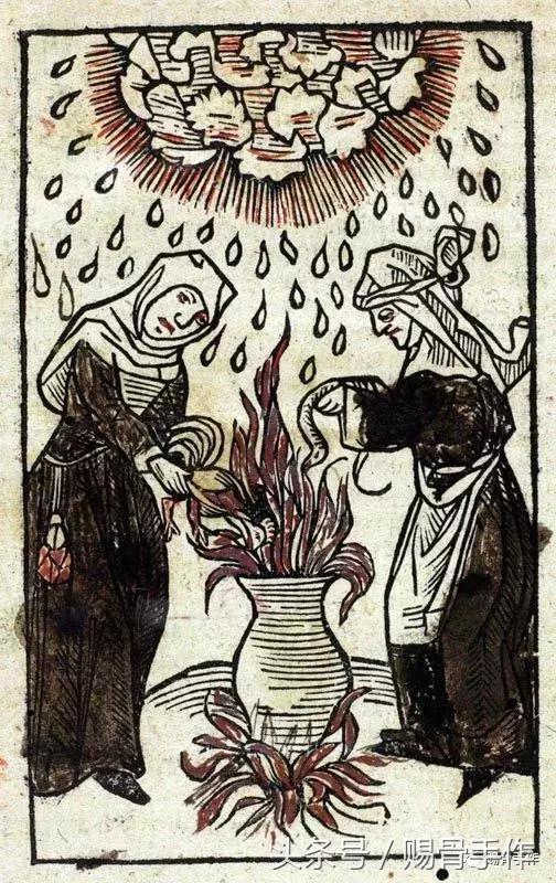 中世紀木刻版畫——女巫刮刮樂 - 每日頭條
