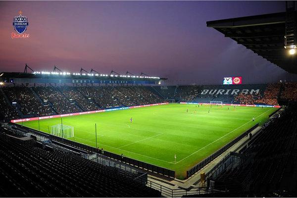 北京小哥帶您走進泰國最漂亮的足球場-武里南聯隊主場 - 每日頭條
