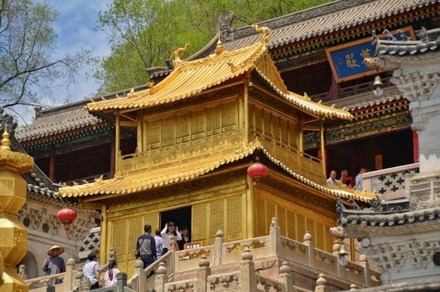 穿越山西發現三晉 忻州五臺山顯通寺明代銅殿 - 每日頭條