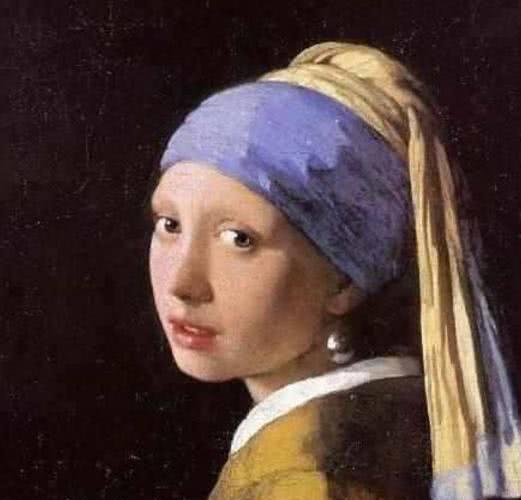 楊穎周冬雨模仿《戴珍珠耳環的少女》,一個唯美復古一個沒法看 - 每日頭條