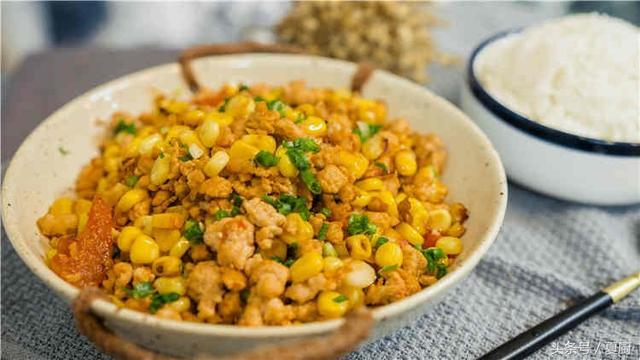 「一周七玉米。一天一菜譜」之玉米炒肉末 - 每日頭條