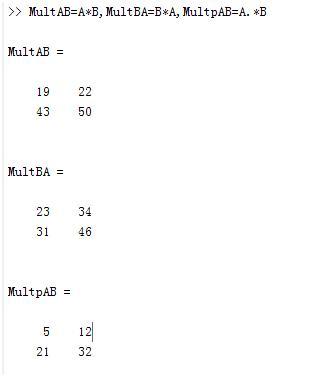 MATLAB矩陣運算-乘法 - 每日頭條