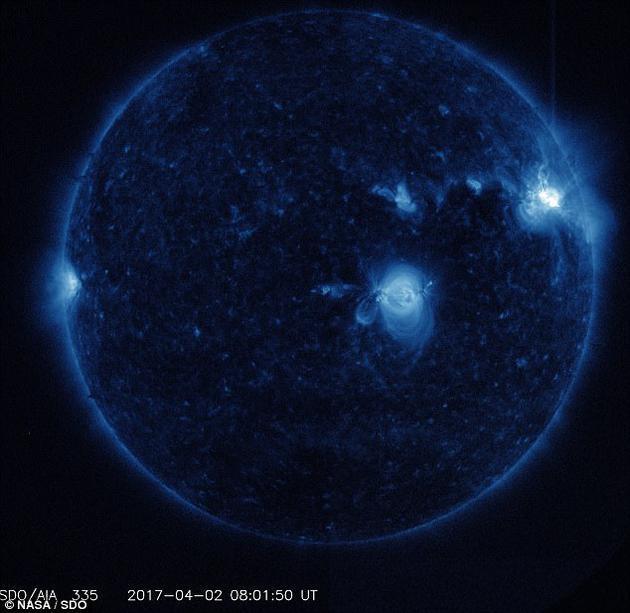 太陽風暴可能消除大氣層部分電子:僅在特定區域 - 每日頭條
