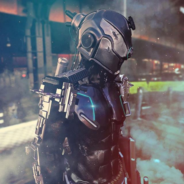 未來人類最強大的單兵作戰武器之一的人形機甲。是不是很炫酷? - 每日頭條