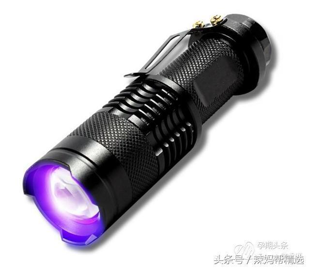 別再用紫光手電筒檢測螢光劑了 因為根!本!不!科!學! - 每日頭條