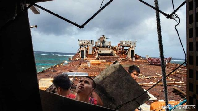17年過去了:非法坐灘我仁愛礁的57號坦克登陸艦,現在怎麼樣 - 每日頭條