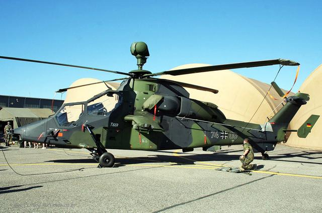 除了大名鼎鼎的「虎」式坦克,德國人還有「虎」式武裝直升機 - 每日頭條