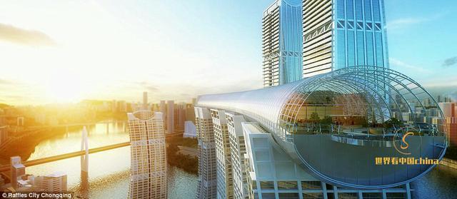 超越新加坡帆船酒店:中國正投資27億英鎊建造一座巨大的玻璃走廊 - 每日頭條