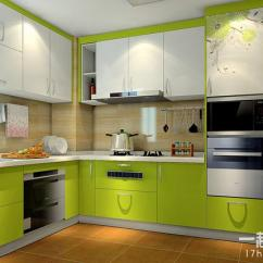 Distressed Kitchen Chairs Bar Top Tables 绿色厨房设计效果图打造清凉厨房 每日头条 大空间的厨房设计 空间的自由布局以及清新的色彩让安静的厨房倍感活力 皮艺椅与实木餐桌的搭配也是一种新的体验 厨房中的小吧台设计丰富了厨房生活 增加居室情调