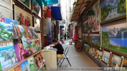 深圳大芬油畫村 ~聚集全國2000多位畫師 - 每日頭條