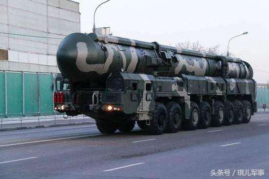 洲際飛彈射程,美國是13000公里,俄軍是16000,中國是多少? - 每日頭條