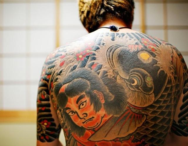 實拍:日本黑幫的紋身 - 每日頭條