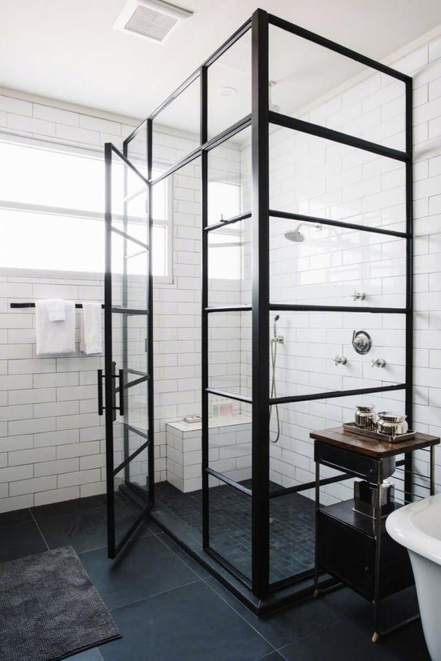 復古工業風的魅力,美好的浴室,能帶來美好的私密時光 - 每日頭條