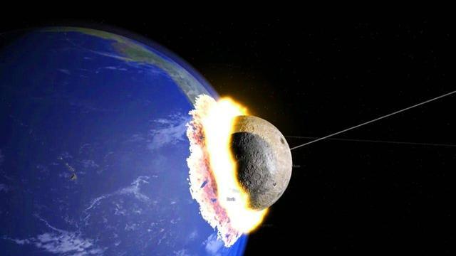 如果月球墜向地球會怎樣? - 每日頭條